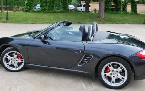 Porsche Boxster 987 3,2i S 280 cv 551: Saute vent Windschott avec bac de rangement