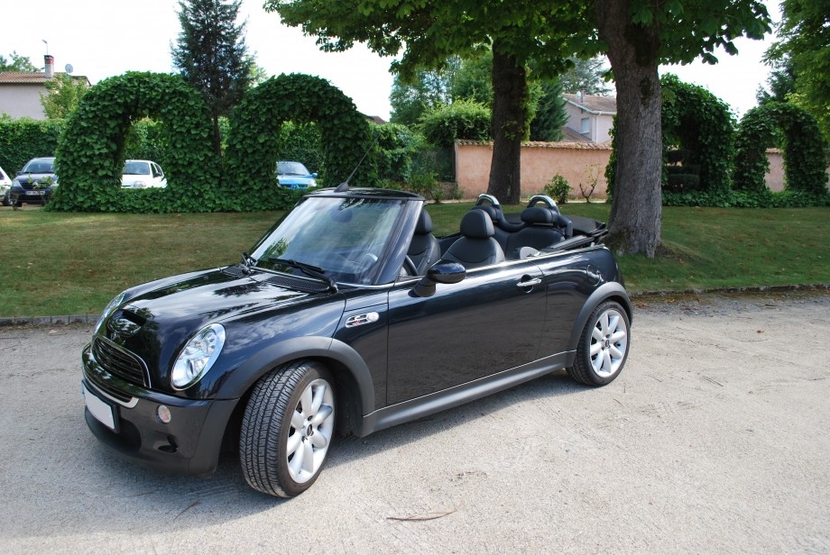 beltone automobiles mini cooper s cabriolet 170 cv r52 occasion. Black Bedroom Furniture Sets. Home Design Ideas
