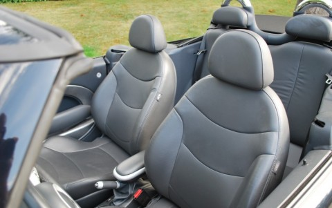 Mini Cooper S Cabriolet 170 cv R52 Sellerie cuir etendu