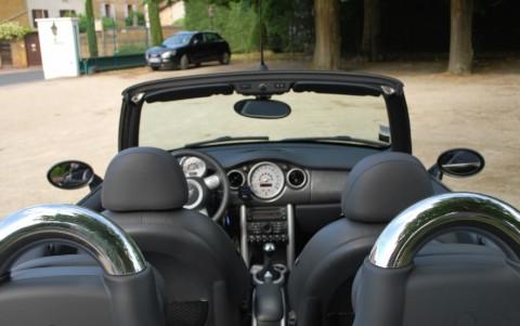Mini Cooper S Cabriolet 170 cv R52 Capote électrique