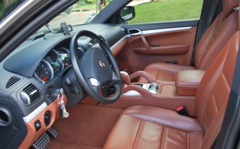 Porsche Cayenne  S 4,8 V8 385 cv Tiptr. S Sellerie cuir Chestnut Brown