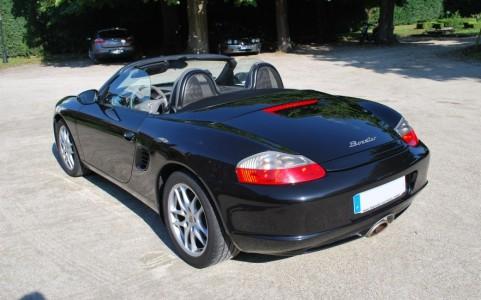 Porsche Boxster 986 2,7i 228 cv 551 : Windschott (saute vent)
