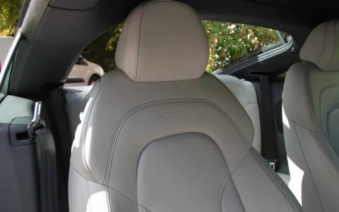 Audi TT RS 2,5L TFSi 340 cv S-Tronic Cuir étendu Nappa fin AUDI EXCLUSIVE avec estampillage RS sur le dossier