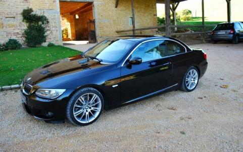 BMW 325d (E93) cabriolet Sport Design Véhicule garanti constructeur jusqu en mars 2016.