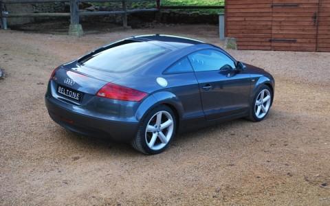 Audi TT 2.0 TFSI 200cv S Line Pack TTS Véhicule livré avec 120 points de contrôle