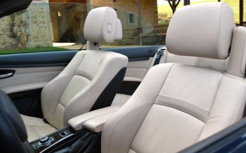BMW 330d (E93) cabriolet Sport Design Sellerie Cuir Dakota Oyster