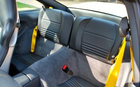 Porsche 996 Carrera 4S 3.6 320 cv XSY : Ceinture sécurité jaune vitesse