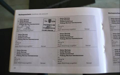 Porsche 997 Carrera 3.6 Entretiens Exclusifs et réguliers en centres Porsche