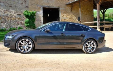 Audi A7 3.0 TDI V6 245 S-Tronic Quattro Vitres surteintées : Lunette arrière, custodes et vitres latérales arrière