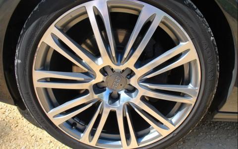 Audi A7 3.0 TDI V6 245 S-Tronic Quattro Jantes en aluminium forgées 10 branches doubles, anthracite partiellement polies, 8Jx20