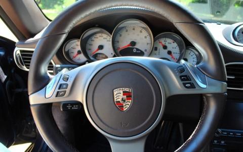 Porsche 997 Carrera S Cabriolet PDK Volant multifonctions cuir lisse