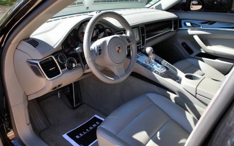 Porsche Panamera 4S PDK Cuir intérieur Gris Platine