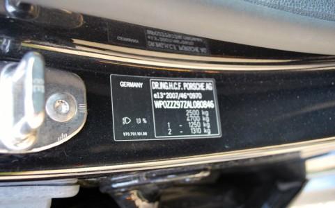 Porsche Panamera Turbo PDK VIN : WP0ZZZ97ZAL080846