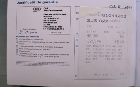 Audi TT Coupé 2.0 TFSI 200cv Stronic TRUZZZ8J981044203