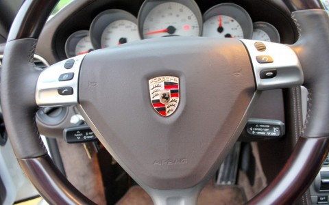 Porsche 997 Carrera S 3.8 355cv 431 : Volant multifonctions touch & feel
