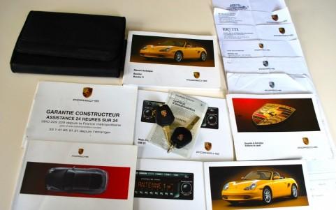 Porsche Boxster S 986 3.2 260 cv Véhicule suivi avec dossier de factures d'entretien.