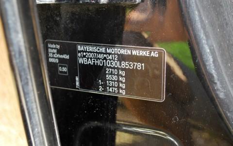 BMW X6 (E71) 40D 306cv xDrive WBAFH01030L853781