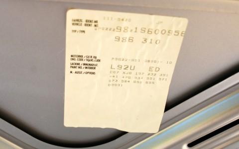 Porsche Boxster 986 2.7 220 cv WP0ZZZ98Z1S600956