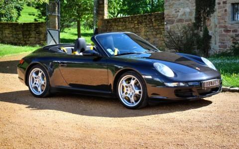 Porsche 997 Carrera S Cabriolet 3.8 355cv Vous habitez loin de Lyon ? Nous venons vous chercher à la gare ou à l'aéroport.