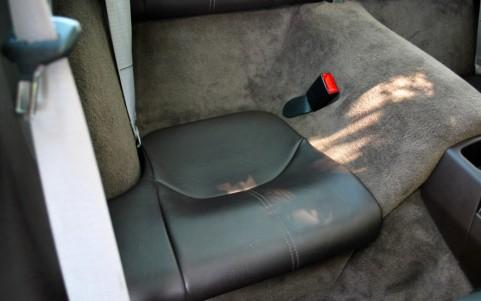 Porsche 997 Turbo 3.6 480cv La trace blanche sur l'assise est un reflet du soleil.