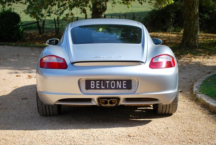 beltone automobiles porsche cayman s 3 4 295cv occasion. Black Bedroom Furniture Sets. Home Design Ideas