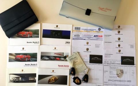 Porsche Boxster S 3.4 310cv PDK Véhicule suivi avec justificatifs.