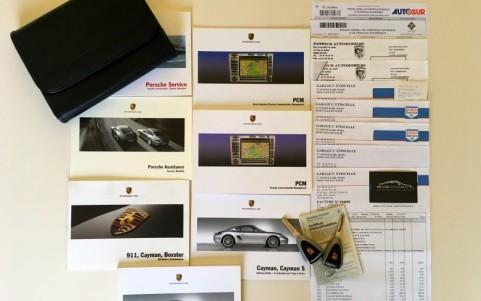 Porsche Cayman S 3.4 295cv Véhicule ayant un entretien suivi et régulier avec justificatifs.