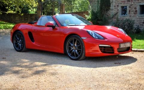 Porsche Boxster 981 2.7 265cv PDK Vous habitez loin de Lyon ? Nous venons vous chercher à la gare ou à l'aéroport.