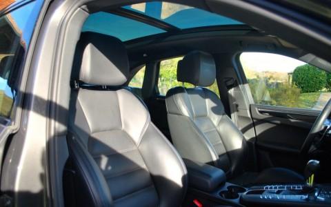 Porsche Macan S Diesel 258cv PDK 3FU : Toit Panoramique en verre teinté avec store électrique.