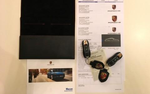 Porsche Macan S Diesel 258cv PDK Véhicule suivi en Centres Porsche (justificatifs).