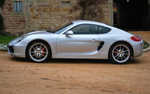 Porsche Cayman S 3.4 325cv PDK LM7U : Teinte métallisée Argent Rhodium