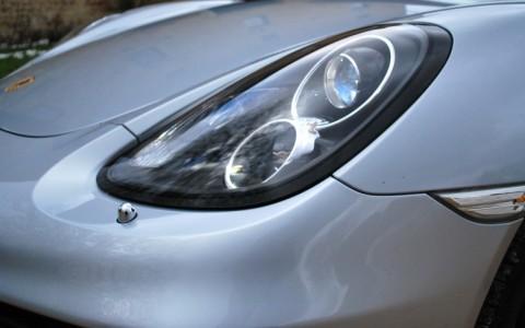 Porsche Cayman S 3.4 325cv PDK 603 / 288 : Projecteurs bi-xénon directionnels PDLS avec lave-phares