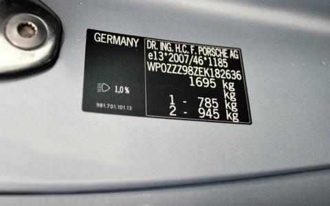 Porsche Cayman S 3.4 325cv PDK WP0ZZZ98ZEK182636