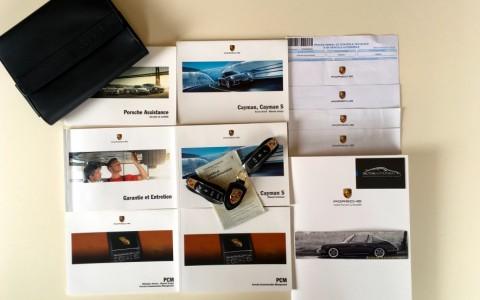 Porsche Cayman S 3.4 325cv PDK Véhicule suivi intégralement chez Porsche en France avec justificatifs