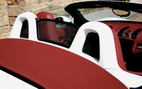 Porsche Boxster S 3.4 315cv PDK 546 : Arceaux de sécurité peints en teinte extérieur
