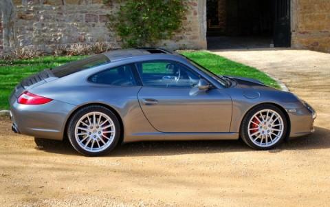 Porsche 997 Carrera S 3.8 385cv PDK 650 : Toit ouvrant entrebaillant et coulissant électrique