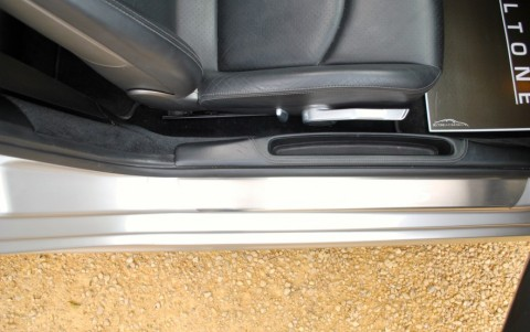 Porsche 997 Carrera S 3.8 355cv X70 : Seuil de portes en acier spécial