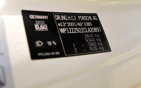 Porsche Cayenne Diesel 3.0 V6 245cv WP1ZZZ92ZCLA20897