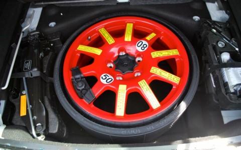 Porsche Cayenne Diesel 3.0 V6 245cv 1G1 : Roue de secours galette 18 pouces