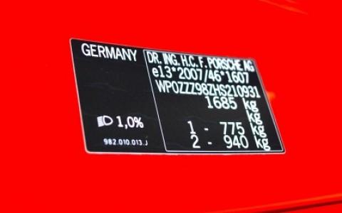 Porsche 718 Boxster PDK WP0ZZZ98ZHS210931
