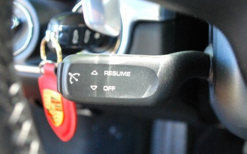 Porsche 718 Boxster PDK 454 : Régulateur de vitesse