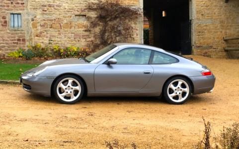 Porsche 996 Carrera 3.4 300cv L6B4 : Peinture Gris Kerguelen métallisée