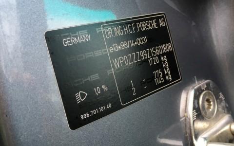Porsche 996 Carrera 3.4 300cv WP0ZZZ99Z1S601808