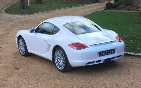 Porsche Cayman S 3.4 320cv PDK Teinte Blanc Carrara (LB9A)