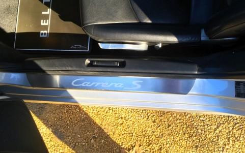 Porsche 997 Carrera S 3.8 355cv X70 : Seuil de porte en acier spécial