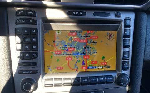 Porsche 997 Carrera S 3.8 355cv 670 / 610 : Module de navigation Europe pour PCM