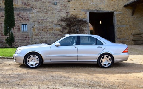 Mercedes S600 5.5 V12 500cv FV : Version longue limousine