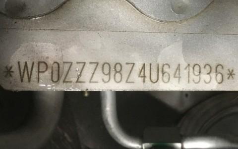 Porsche Boxster S 550 Spyder 266cv WP0ZZZ98Z4U641936