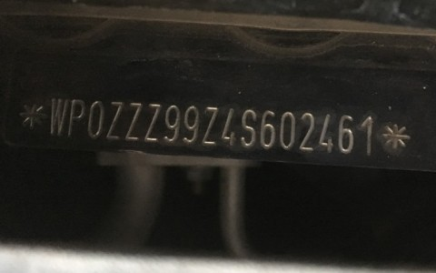 Porsche 996 Carrera 3.6 320cv WP0ZZZ99Z4S602461