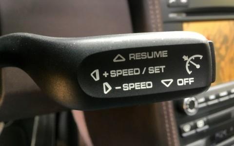 Porsche 997 Carrera S PDK 3.8 385cv 454 : Régulateur de vitesse